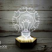 Для дома и интерьера ручной работы. Ярмарка Мастеров - ручная работа Светильник Лампа. Handmade.