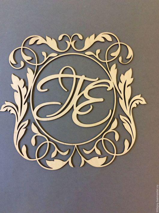 Свадебные аксессуары ручной работы. Ярмарка Мастеров - ручная работа. Купить 6 видов.Монограммы для фотосессий и декора.. Handmade. Свадьба