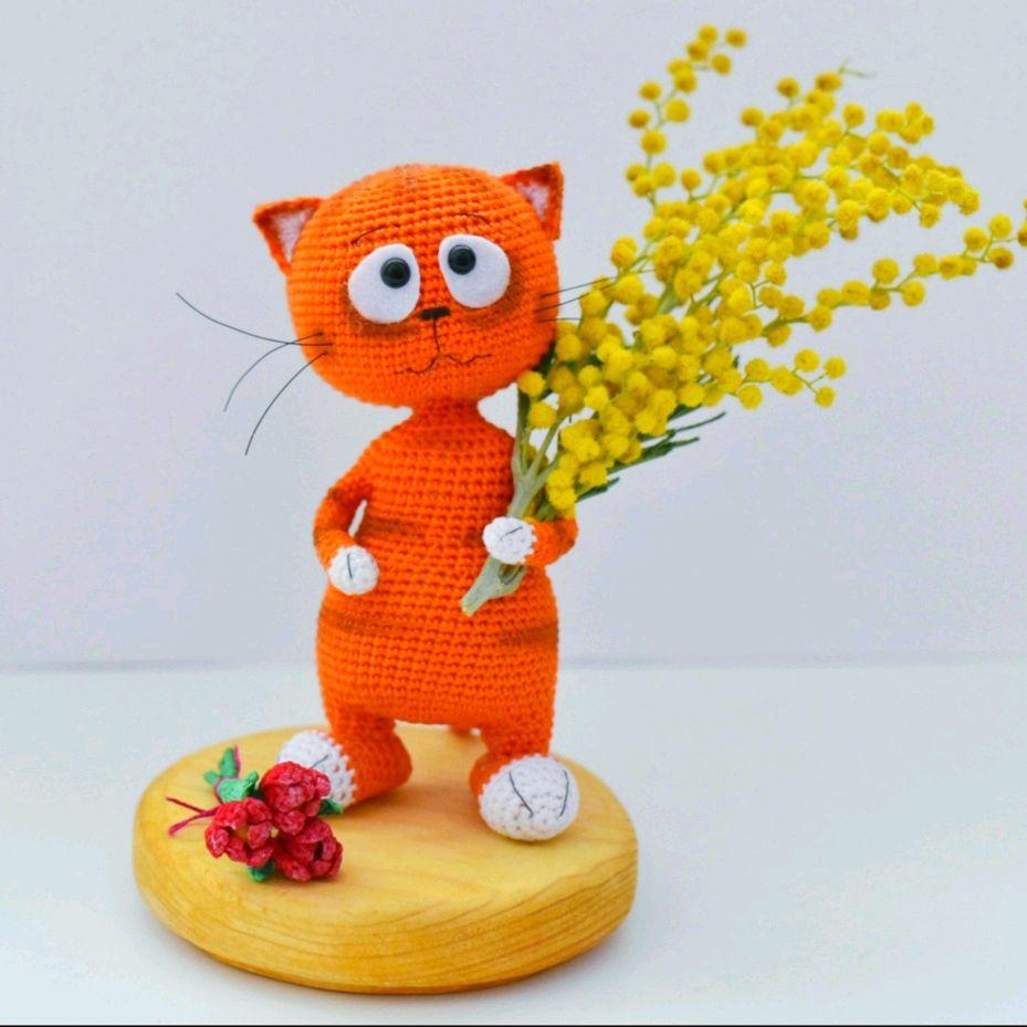 Весенний кот Мартин, Мягкие игрушки, Сургут,  Фото №1