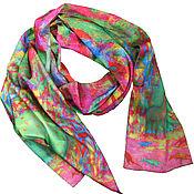 Аксессуары handmade. Livemaster - original item How to buy a scarf scarf Designer Life in the Miocene era Ulumbekov. Handmade.