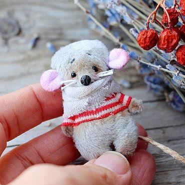 Украшения ручной работы. Ярмарка Мастеров - ручная работа Броши: Мышки. Handmade.