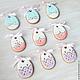 Gingerbread Easter Filigrane. Gingerbread Cookies Set. prynik. My Livemaster. Фото №5