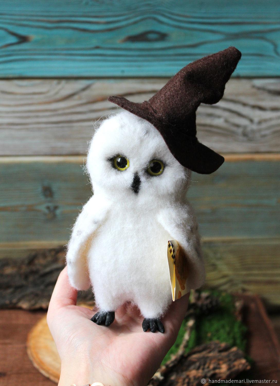 Сова Букля в шляпе из Гарри Поттера – купить на Ярмарке ...