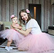 Одежда ручной работы. Ярмарка Мастеров - ручная работа Комплект для мамы и дочки юбочки-пачки. Handmade.