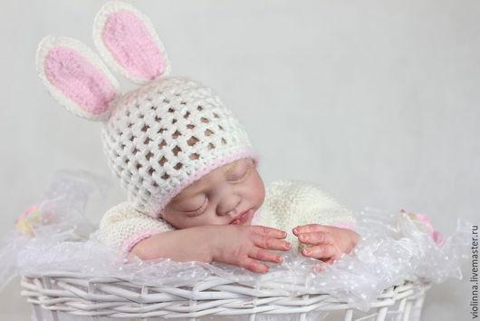 Куклы-младенцы и reborn ручной работы. Ярмарка Мастеров - ручная работа. Купить Леночка милый зайчонок, реборн. Молд reborn Natali Blick. Handmade.