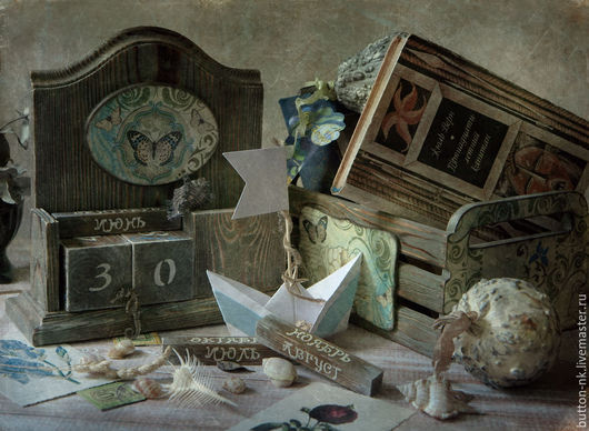 Фотокартины ручной работы. Ярмарка Мастеров - ручная работа. Купить С мечтами о море... Натюрморт фото, картина. Handmade.