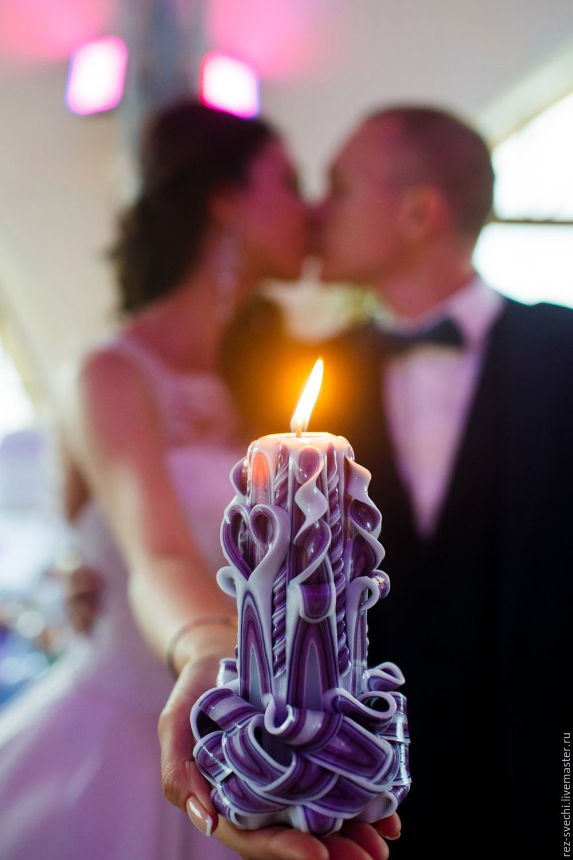 Свечи на свадьбу для очага