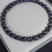 Работы для детей, handmade. Livemaster - original item Natural Black Pearls Beads. Handmade.