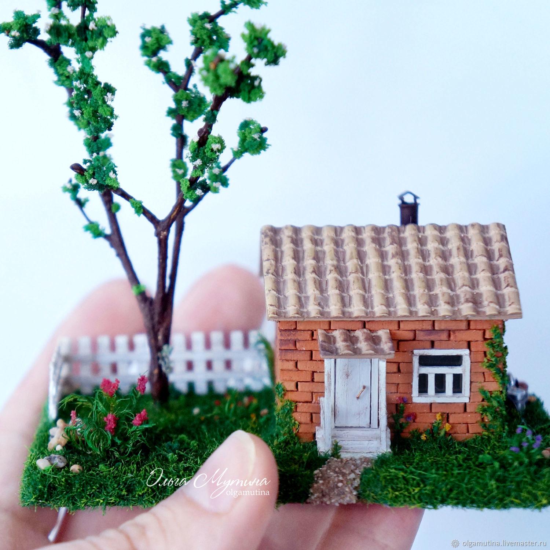 Country house, Miniature figurines, Cheboksary,  Фото №1