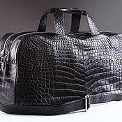 Сумки и аксессуары handmade. Livemaster - original item Sports, travel bag crocodile A0056B4. Handmade.