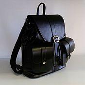 Сумки и аксессуары handmade. Livemaster - original item Backpack leather 402. Handmade.