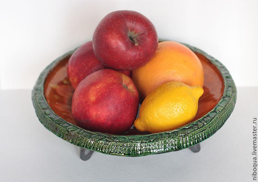 Блюдо для фруктов Flor tropical