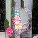 """Открытки на все случаи жизни ручной работы. Ярмарка Мастеров - ручная работа. Купить Открытка ручной работы """"Цветы и сердце"""". Handmade."""