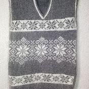 Одежда ручной работы. Ярмарка Мастеров - ручная работа Жилет пуховый. Handmade.