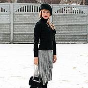 Одежда handmade. Livemaster - original item Skirt womens knitted