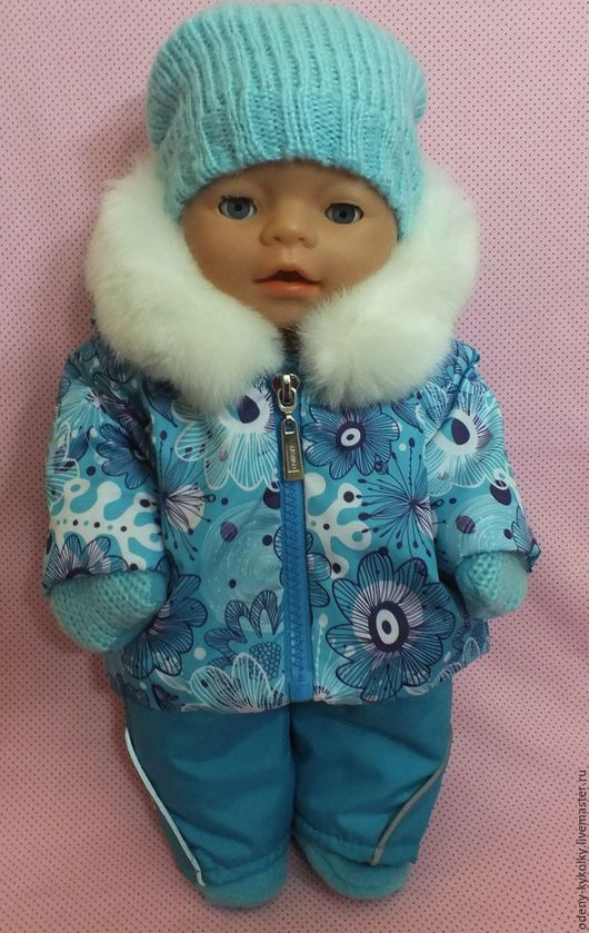 Одежда для кукол ручной работы. Ярмарка Мастеров - ручная работа. Купить Костюм для куклы Baby Born. Handmade. Сиреневый