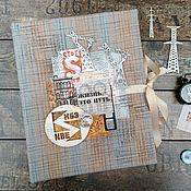 Фотоальбомы ручной работы. Ярмарка Мастеров - ручная работа Фотоальбом в подарок на юбилей от предприятия. Handmade.