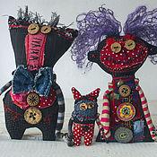 Куклы и игрушки ручной работы. Ярмарка Мастеров - ручная работа Муж, Жена и Один СОтОна. Handmade.
