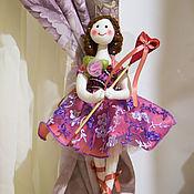 Для дома и интерьера ручной работы. Ярмарка Мастеров - ручная работа Фея балерина держатель штор. Handmade.