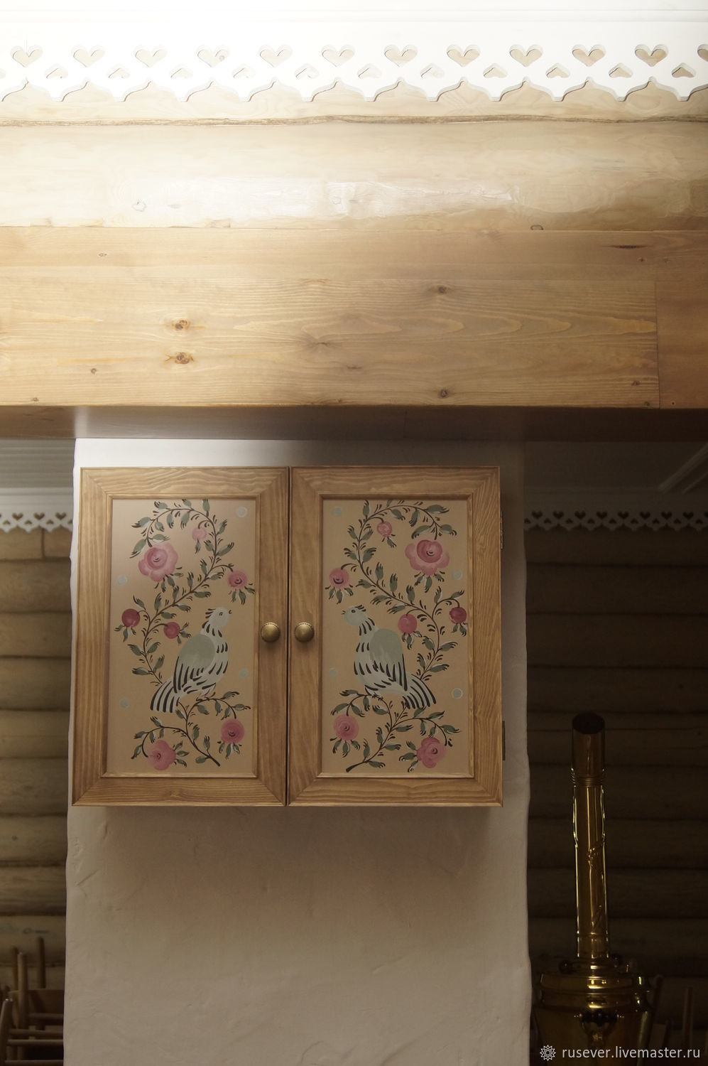 Hanging cabinet with painting, Kitchen, Seversk,  Фото №1