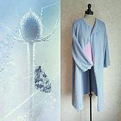 Одежда ручной работы. Ярмарка Мастеров - ручная работа Пальто вязаное Осенняя прогулка. Handmade.