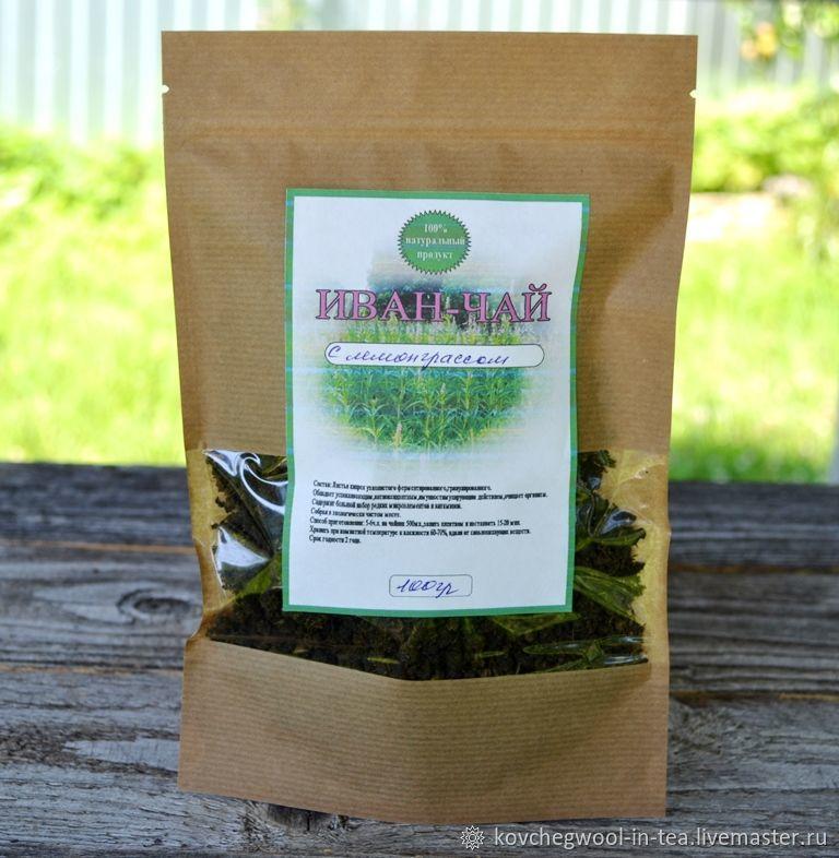 Иван-чай зелёный с лемонграссом 100гр, Травы, Торжок,  Фото №1