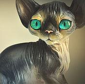 Подарки к праздникам handmade. Livemaster - original item Loki the kitten Sphinx. Handmade.