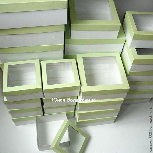 оригинальная упаковка, упаковка для цветов, упаковка для ободков, подарочная упаковка, коробочки с окошком для украшений