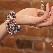 Украшения ручной работы. Ярмарка Мастеров - ручная работа Браслет Lilac. Handmade.