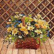 """Дизайн и реклама ручной работы. Ярмарка Мастеров - ручная работа Фотофон """"Золотое дерево""""  (стена+пол). Handmade."""