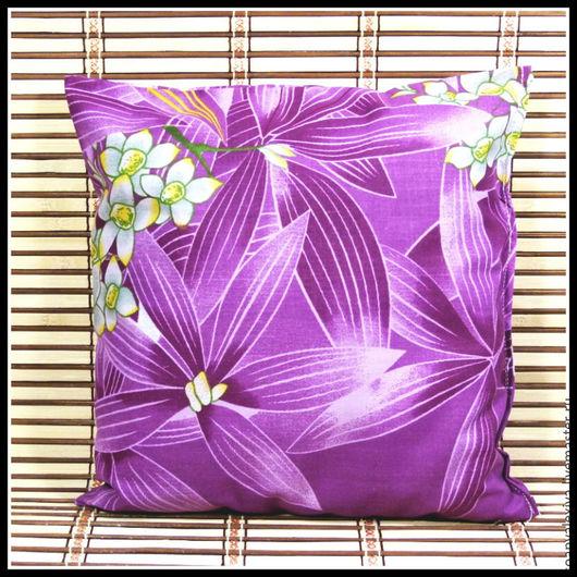 """Текстиль, ковры ручной работы. Ярмарка Мастеров - ручная работа. Купить Эко подушки - """" Спокойной ночи """" - травяная. Handmade."""