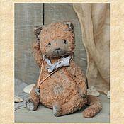 Материалы для творчества handmade. Livemaster - original item Teddy - Cat pattern. Handmade.
