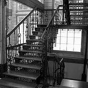 Для дома и интерьера ручной работы. Ярмарка Мастеров - ручная работа Лестница кованая  на 3 этажа. Handmade.