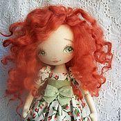 Куклы и игрушки ручной работы. Ярмарка Мастеров - ручная работа Кукла  Огонёк. Handmade.