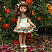 Куклы и игрушки ручной работы. Ярмарка Мастеров - ручная работа Капучино с ванилью - наряд для куклы Paola Reina. Handmade.