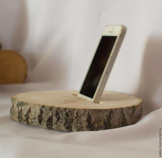 Мебель ручной работы. Ярмарка Мастеров - ручная работа. Купить Подставки для телефона. Handmade. Подставка из дерева, rustic