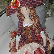 """Куклы и игрушки ручной работы. Ярмарка Мастеров - ручная работа Кукла Тильда балерина """"Коломбина"""". Handmade."""