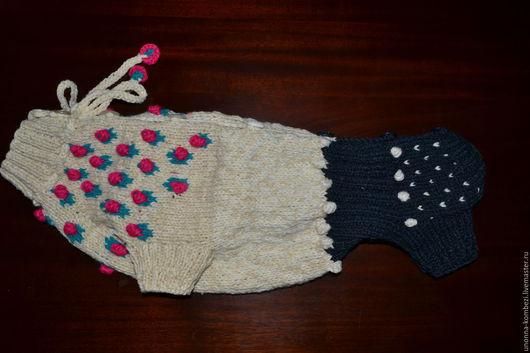 """Одежда для собак, ручной работы. Ярмарка Мастеров - ручная работа. Купить Комбинезон для таксы """"девочка"""". Handmade. Комбинированный, одежда для собак"""