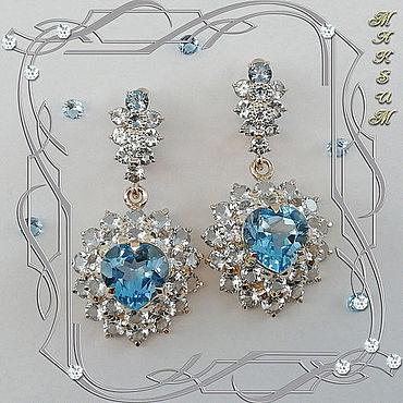 Decorations handmade. Livemaster - original item Earrings