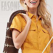 Одежда handmade. Livemaster - original item Women`s jumpsuit yellow 100% linen Jumpsuit female. Handmade.