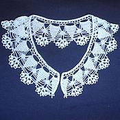 Collars handmade. Livemaster - original item Lace collar No. №9. Handmade.