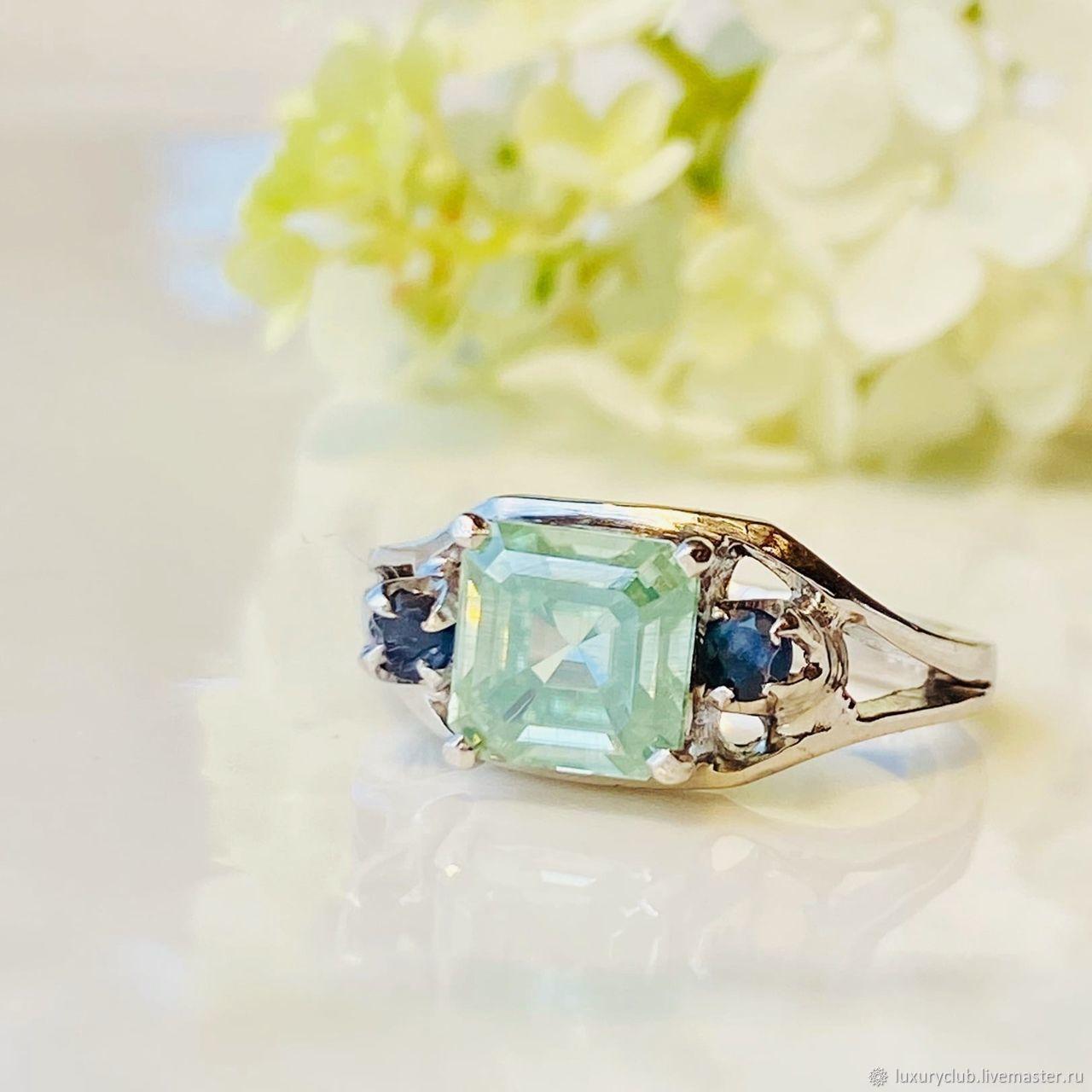 17P diamond Ring 'Wind of change' buy, Rings, Tolyatti,  Фото №1