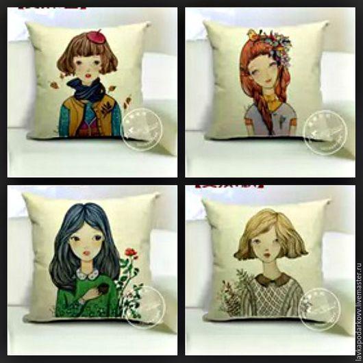 Подушки девочки для девочек