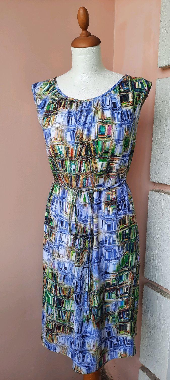 Платье штапель Принт восточный орнамент 36-62 р -ры, Платья, Москва,  Фото №1