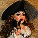 Коллекционные куклы ручной работы. Ярмарка Мастеров - ручная работа. Купить Авторская кукла В поисках приключений. Handmade. Коричневый