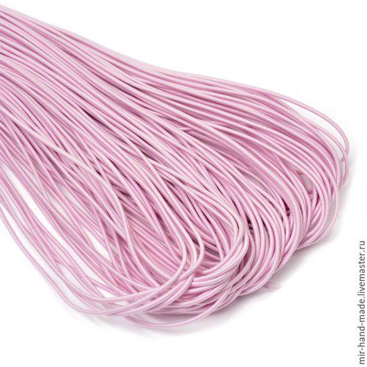 Открытки и скрапбукинг ручной работы. Ярмарка Мастеров - ручная работа. Купить Шнур-резинка 2,2 мм розовый. Handmade.