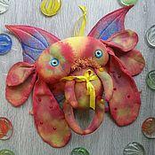 Мягкие игрушки ручной работы. Ярмарка Мастеров - ручная работа Цветная пыль. Чердачная моль. Handmade.