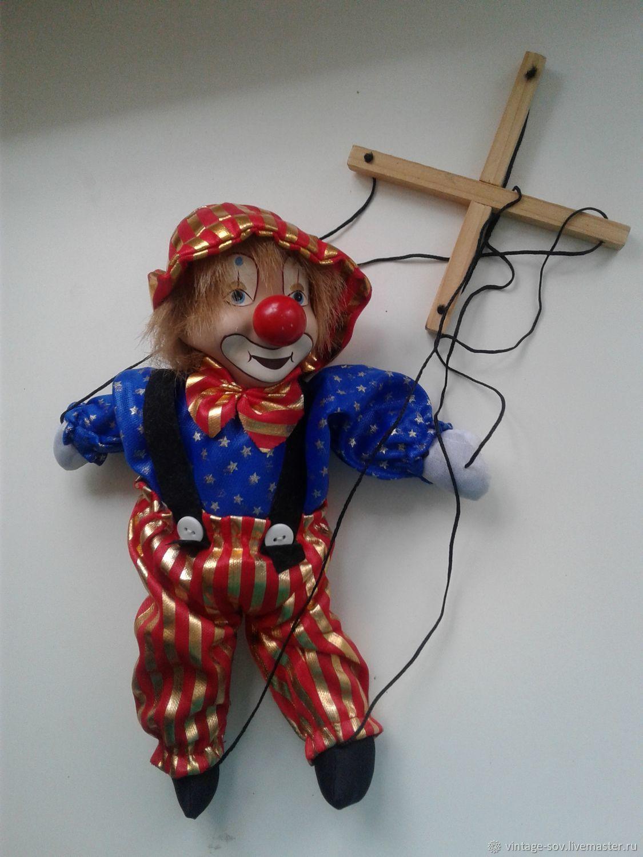 КЛОУН кукла марионетка, Кукольный театр, Москва,  Фото №1