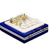 Активный отдых и развлечения handmade. Livemaster - original item Chess stone Onyx and Marble 20, PakShah. Handmade.