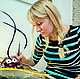 Подарки на свадьбу ручной работы. Шаржист на СВАДЬБУ :). Рисовальня: 'Лампа на столе'. Интернет-магазин Ярмарка Мастеров. Шарж по фото